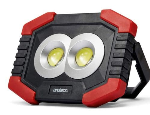 Amtech S8144 3W Mini COB Worklight with Side LED